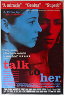 Talk To Her <p><i> (British 4 Sheet Poster - Version 2) </i></p>