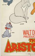 THE ARISTOCATS (Bottom Left) Cinema 4 Sheet Movie Poster