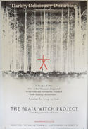 THE BLAIR WITCH PROJECT Cinema 4 Sheet Movie Poster