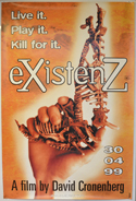 Existenz <p><i> (British 4 Sheet Poster) </i></p>