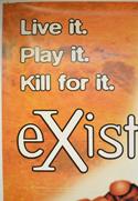 EXISTENZ (Top Left) Cinema 4 Sheet Movie Poster
