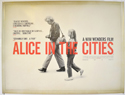 ALICE IN THE CITIES Cinema Quad Movie Poster