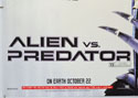 ALIEN VS PREDATOR (Bottom Left) Cinema Quad Movie Poster