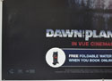 DAWN OF THE PLANET OF THE APES (Bottom Left) Cinema Quad Movie Poster
