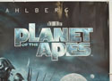 PLANET OF THE APES (Top Right) Cinema Quad Movie Poster