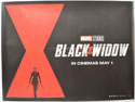 BLACK WIDOW Cinema Quad Movie Poster