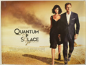 007 : QUANTUM OF SOLACE Cinema Quad Movie Poster
