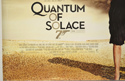007 : QUANTUM OF SOLACE (Bottom Left) Cinema Quad Movie Poster