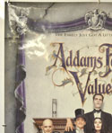 ADDAMS FAMILY VALUES (Top Left) Cinema One Sheet Movie Poster