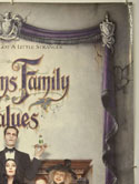 ADDAMS FAMILY VALUES (Top Right) Cinema One Sheet Movie Poster