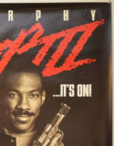 BEVERLY HILLS COP III (Top Right) Cinema One Sheet Movie Poster