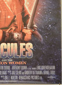 HERCULES AND THE AMAZON WOMEN (Bottom Right) Cinema One Sheet Movie Poster