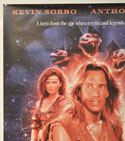 HERCULES AND THE AMAZON WOMEN (Top Left) Cinema One Sheet Movie Poster