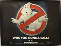 Ghostbusters <p><i> (Teaser / Advance Version) </i></p>