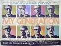 MY GENERATION Cinema Quad Movie Poster