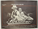 BORSALINO Cinema Quad Movie Poster