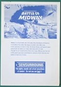 Battle Of Midway -  Synopsis - front