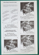 Battlestar Galactica - Adevertising Guide Sheet