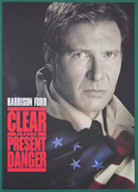 Clear And Present Danger <p><i> Original Cinema Exhibitor's Synopsis / Credits Booklet </i></p>