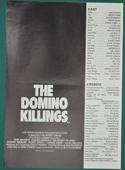 Domino Killings - Press Book - Front