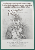 Raiders Of The Lost Ark <p><i> Original 4 Page Cinema Exhibitors Synopsis / Credits Booklet </i></p>