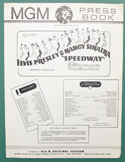 Speedway <p><i> Original 4 Page Cinema Exhibitor's Campaign Book  </i></P>