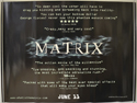 Matrix (The) <p><i> (Reviews Version) </i></p>