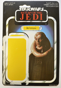 STAR WARS FIGURE – BIB FORTUNA (CARD FRONT View)