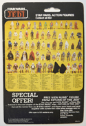 STAR WARS FIGURE –   CHIEF CHIRPA (CARD BACK View)