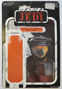 STAR WARS FIGURE – PRINCESS LEIA (BOUSHH DISGUISE) (CARD FRONT View)