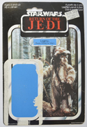 STAR WARS FIGURE –   LOGRAY (CARD FRONT View)