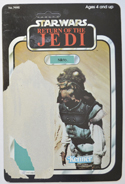 STAR WARS FIGURE –   NIKTO (CARD FRONT View)