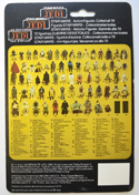 STAR WARS FIGURE – PRUNE FACE (CARD BACK View)