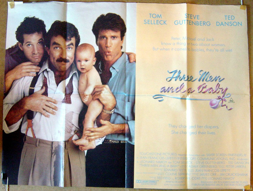 Three Men And A Baby - Original Cinema Movie Poster From ...