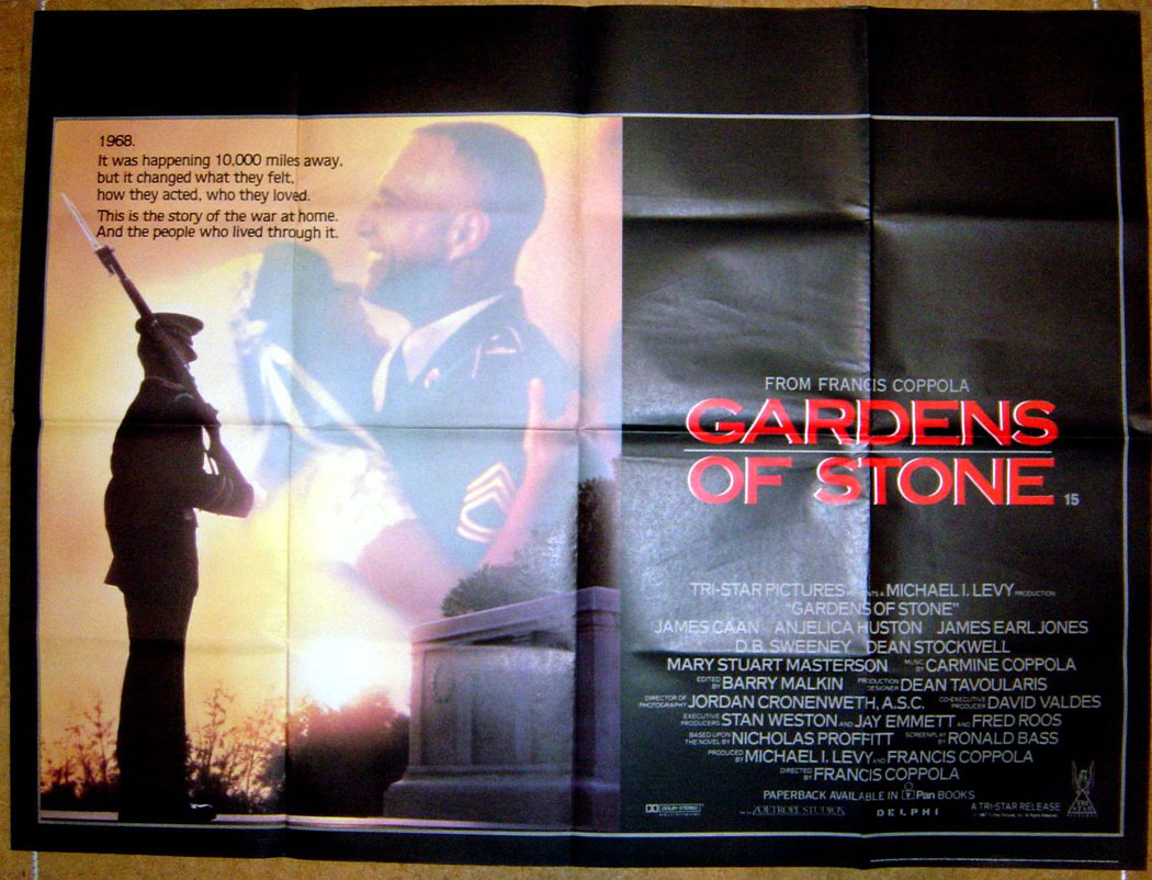 Garden Of Stone Movie Gardens of stone original cinema movie poster from pastposters gardens of stone view larger image workwithnaturefo