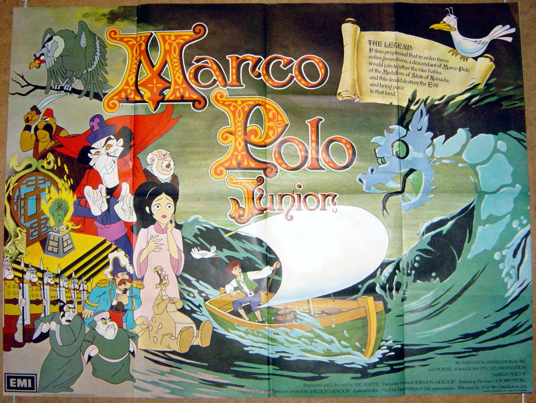 Marco Polo Junior - Original Cinema Movie Poster From pastposters ...