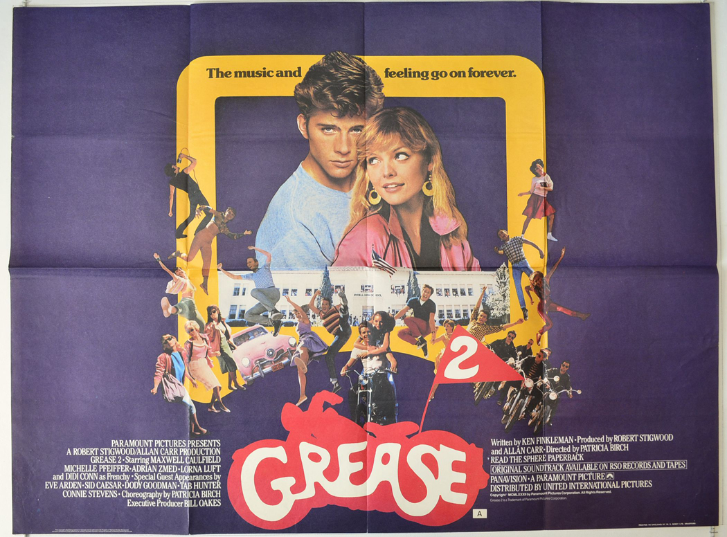 Grease 2 - Original Cinema Movie Poster From pastposters.com ...