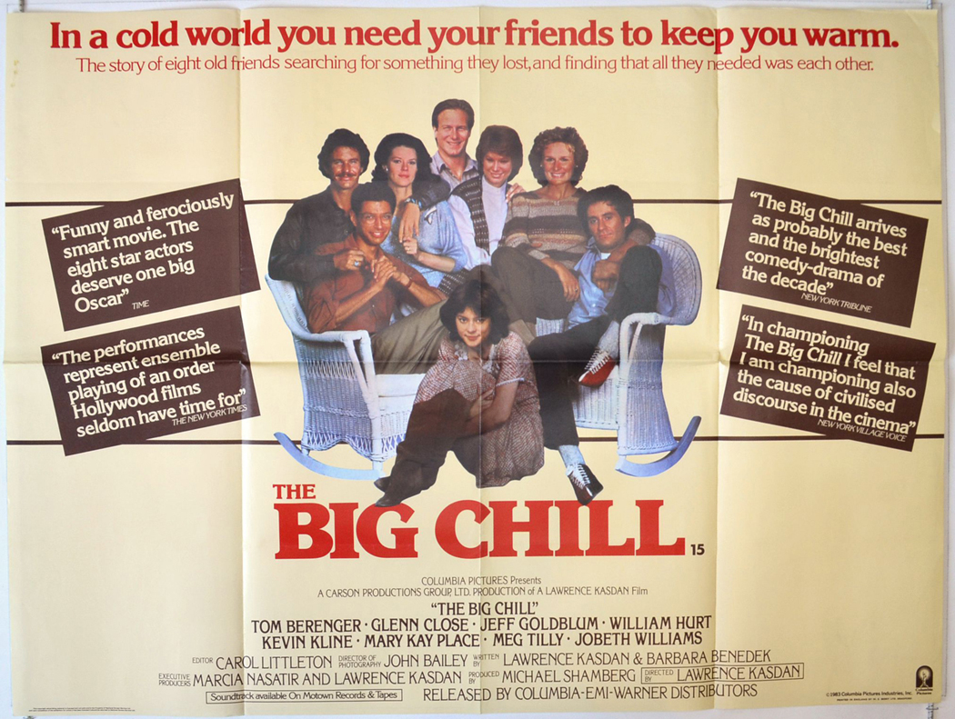 Big Chill (The) - Original Cinema Movie Poster From pastposters ...