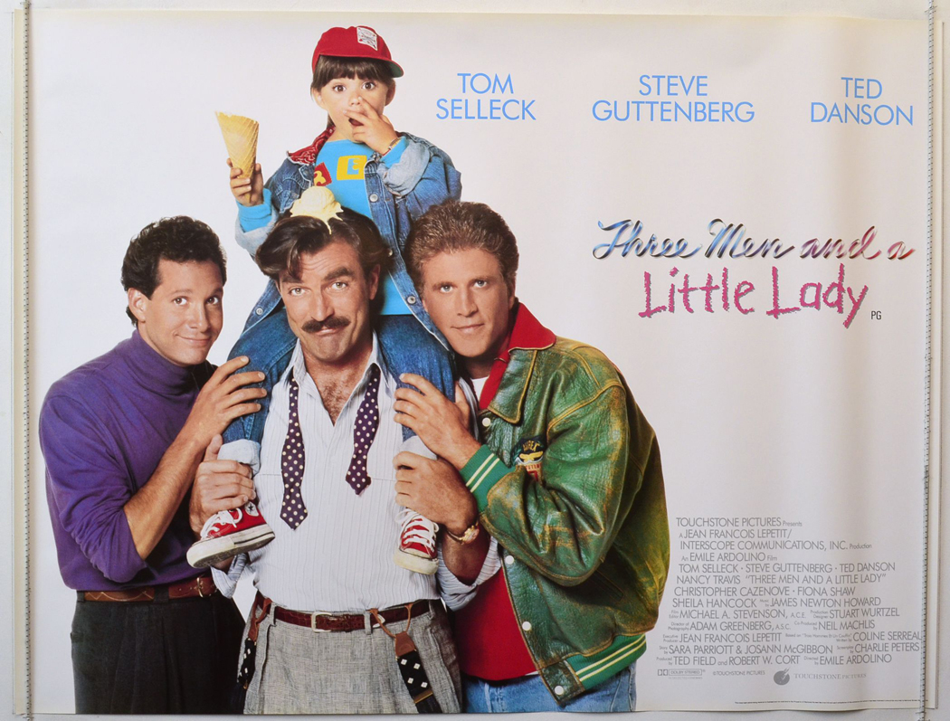 Three Men And A Little Lady - Original Cinema Movie Poster From ...