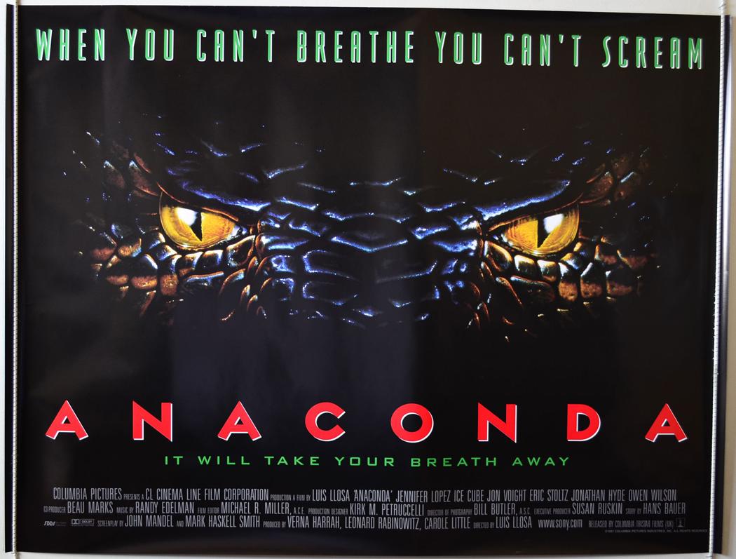 Anaconda 1 e 2 - BluRay 720p Dublado - Torrent Download (1997-2004)