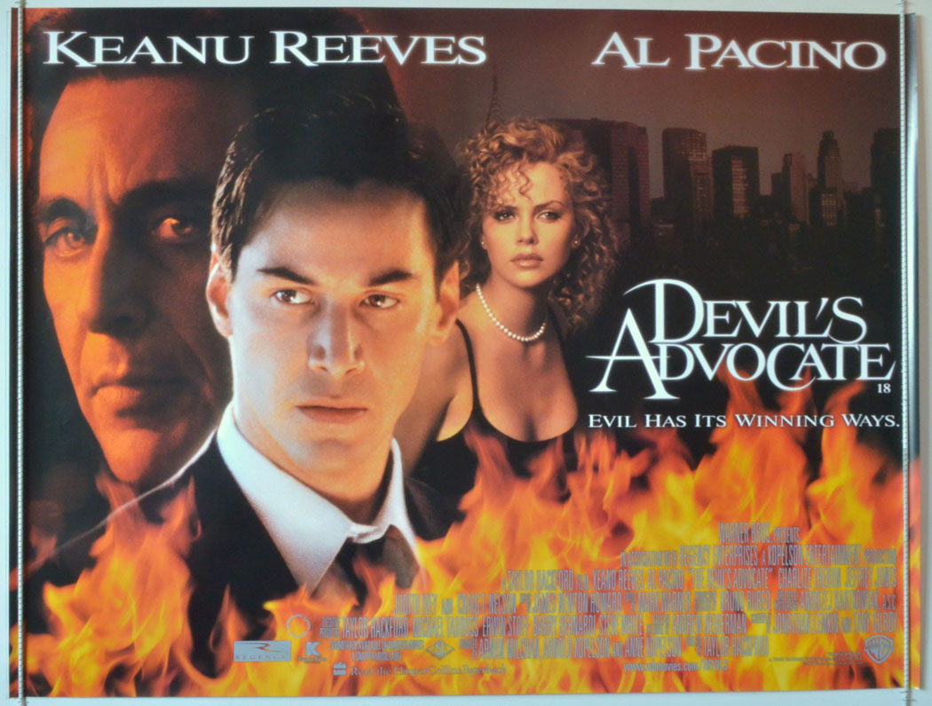 Devil's Advocate (The) - Original Cinema Movie Poster From ...