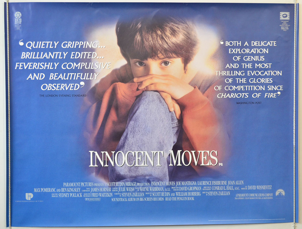 Innocent Moves <p><i> (a.k.a. Searching for Bobby Fischer) </i></p ...
