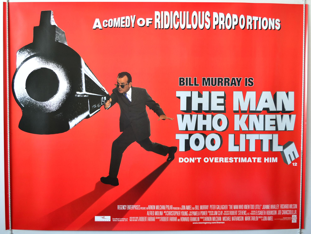 Movie Posters 1997: Man Who Knew Too Little (The)