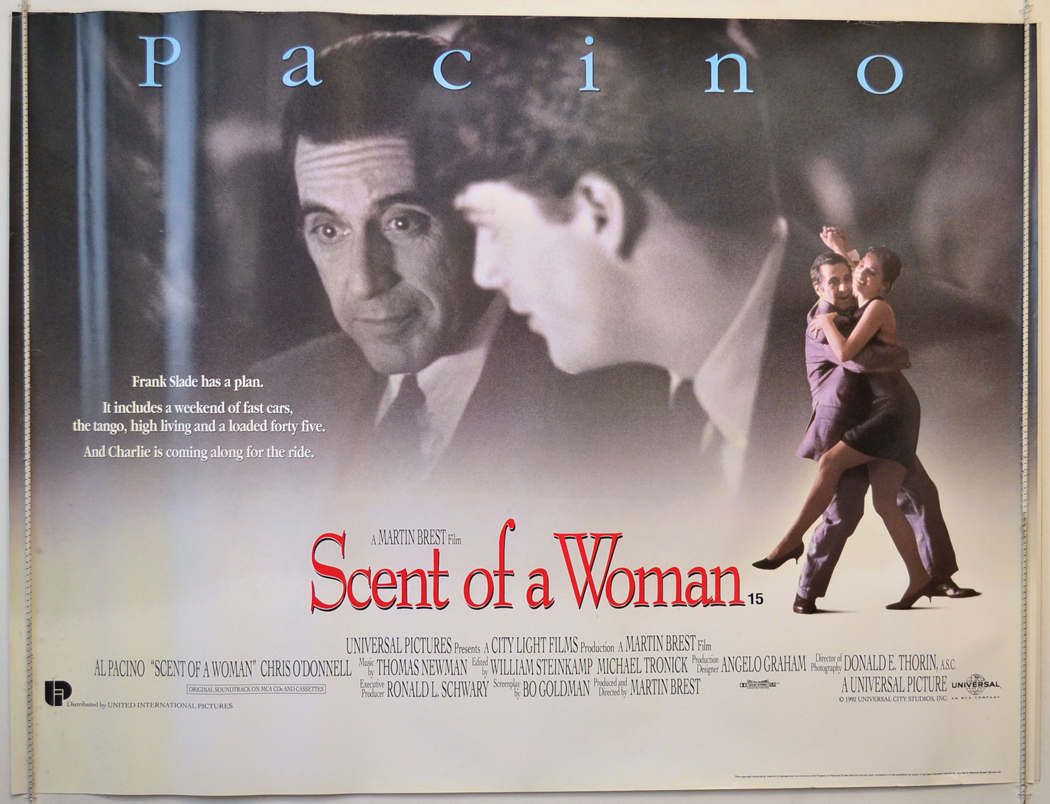 Scent Of A Woman (The) - Original Cinema Movie Poster From ...