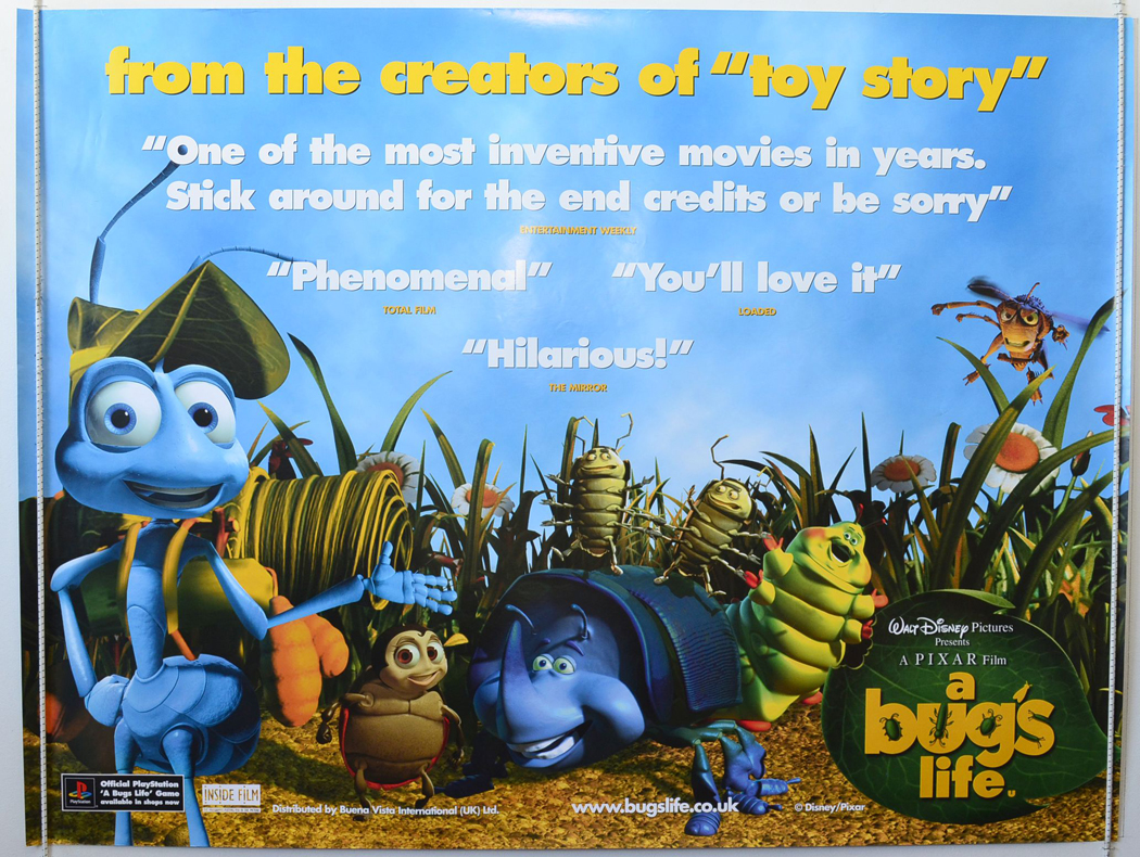 This is a picture of Impertinent A Bug's Life Poster