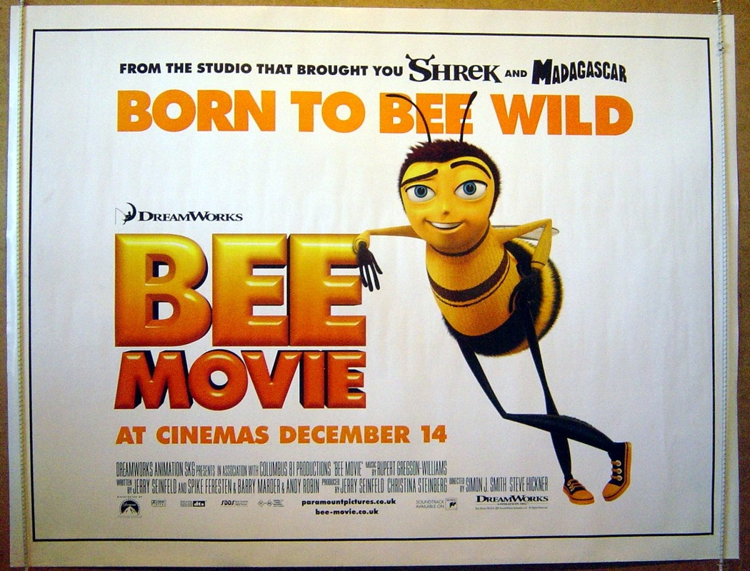 Bee Movie - Original Cinema Movie Poster From pastposters.com ...