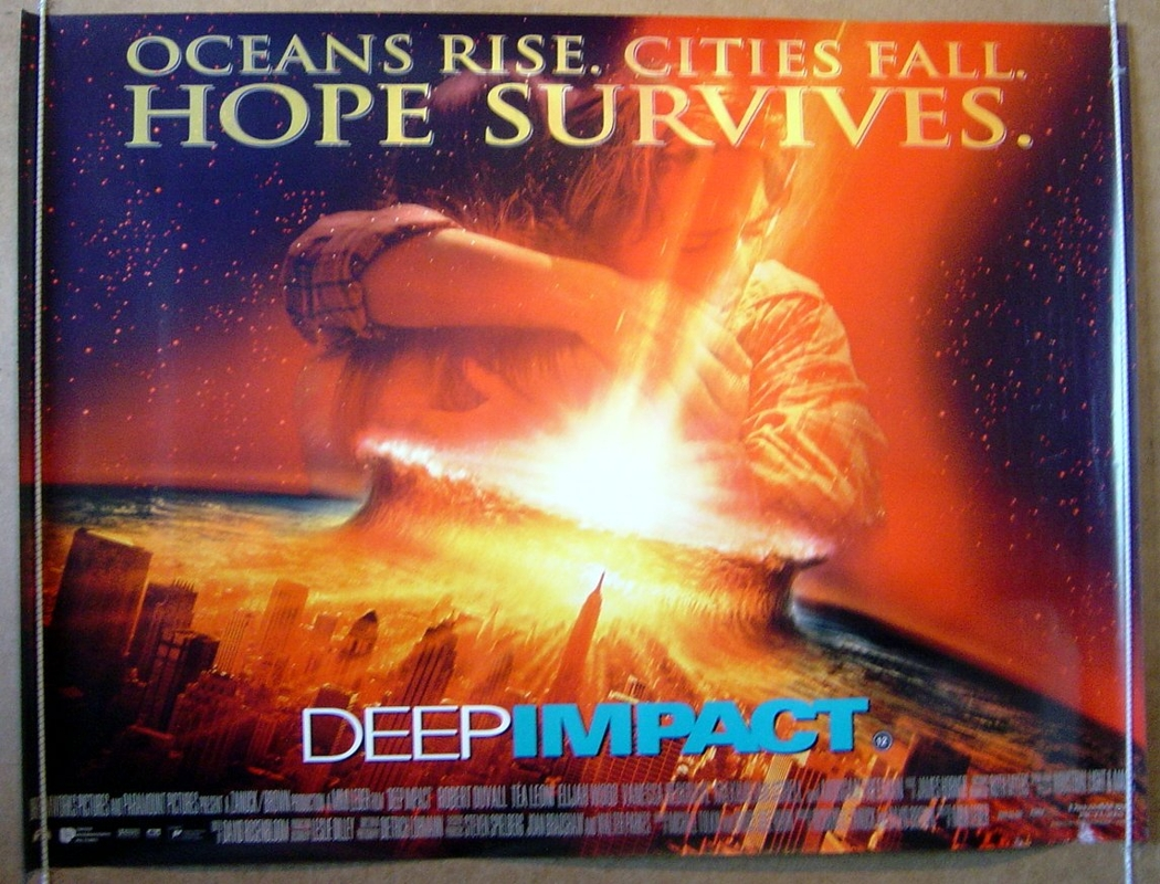Deep Impact - Original Cinema Movie Poster From pastposters.com ...