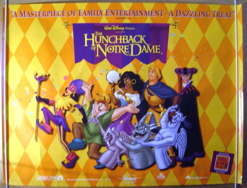 Hunchback Of Notre Dame (The) - Original Cinema Movie Poster From ...