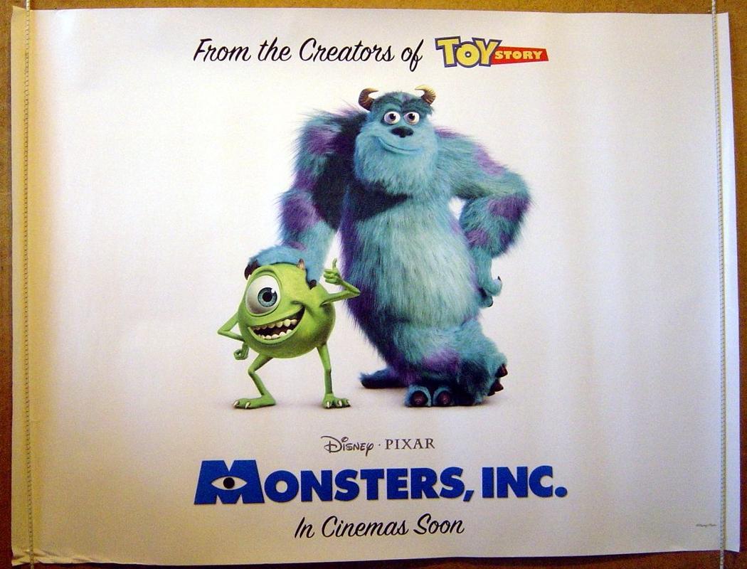 Monsters Inc <p><i> (Teaser / Advance Version) </i></p> - Original ...