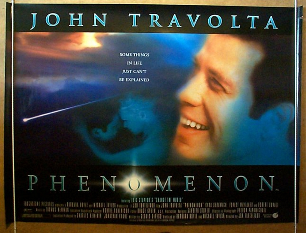 Phenomenon - Original Cinema Movie Poster From pastposters.com ...